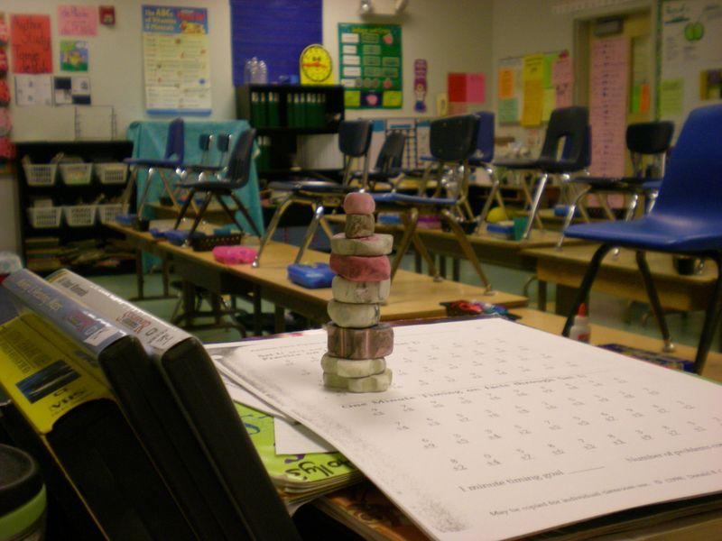 Eraser Cairn