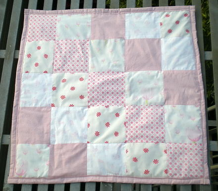 Baby Girl Quilt Kits - Connecting Threads