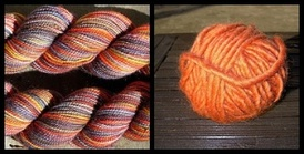 Koigu_and_orange_yarn_mosaic_3